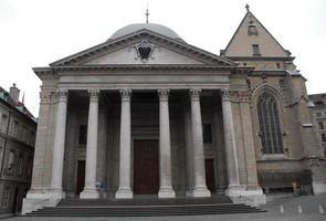 katedralen i Genève. foto