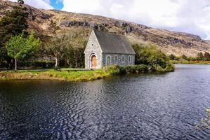 gougane barra, västra kork i Irland. foto