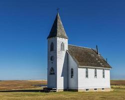 övergivna kyrkan foto