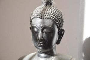 bild av buddha i skugga