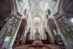 abbatiale de la trinite, fecamp, normandie, frankrike foto