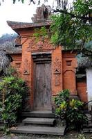 porte de temple hindouiste foto