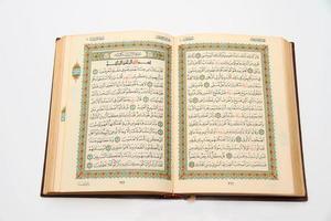 sidor i Koranens heliga bok foto