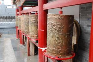 buddhistisk kloster i Xining, Kina foto
