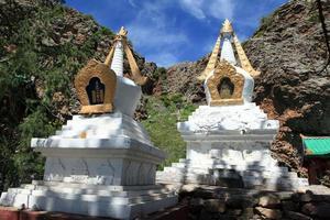 tuvkhun kloster in der mongolei foto