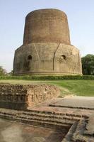 dhamekh stupa i saranath foto