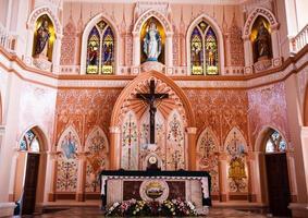 katedralen för den obefläckade befruktningen, Chanthaburi, Thailand