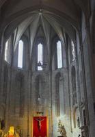 inre av katedralen, los santos justos, alcala de henares,