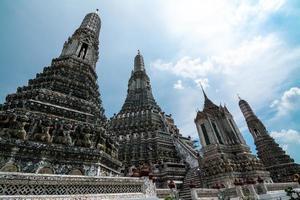 vackert tempel i Thailand