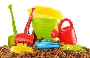 barnleksaker av plast foto