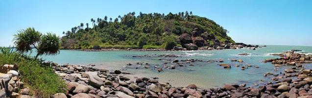 tropisk ö i Indien