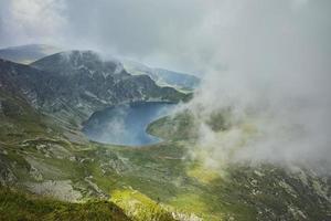 fantastisk panorama till njursjön