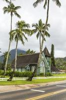 kristen kyrka på hawaii foto