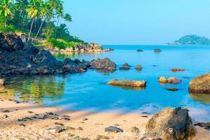 himmelsk plats för en bra semester i Indien foto