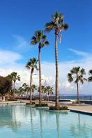 molos promenade i limassol, cypern foto