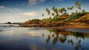 idyllisk strand