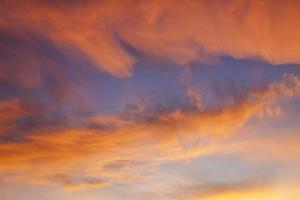 cielo de otoño