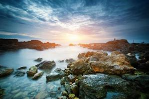 vackert seascape foto