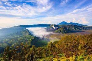 Mount Bromo vulkan, East Java, Surabuya, Indonesien