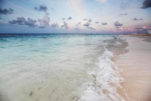 solnedgång på havet foto