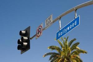 hollywood skylt