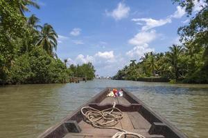 båttur i Thailand
