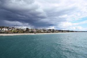 stormigt San Clemente, södra Kalifornien