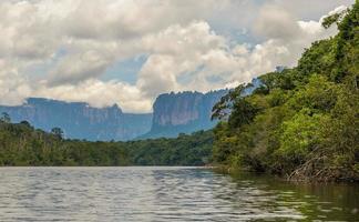 canaima nationalpark, venezuela foto