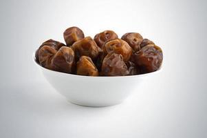 arabiska datum serveras i ramadan efter fastan foto