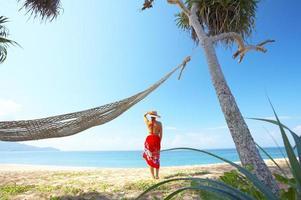 tropiska semester foto