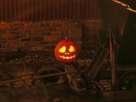 West Lancashire Light Railway firar Halloween.