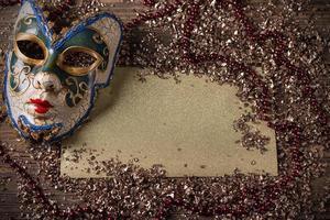 karneval mask foto