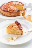 epiphany cake, king cake, galette des rois foto