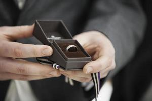 bröllop: ringen foto
