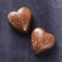 chokladhjärtan foto