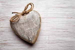 vintage hjärta. foto