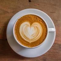 hjärta kaffe-3 foto