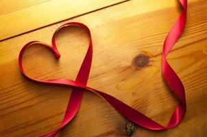 menyfliksområdet hjärta foto