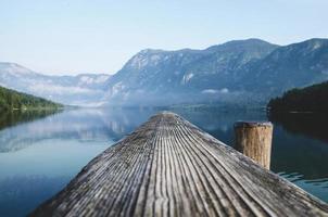 sjön i Slovenien foto
