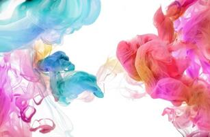 akrylfärger i vatten. abstrakt bakgrund.