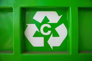 återvinning symbol