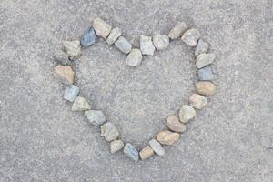 hjärta av stenar