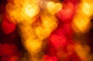 röd hjärta form semester bakgrund foto