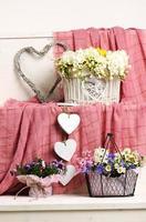 blommig dekoration foto