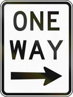 enkelriktad trafik till höger i Australien