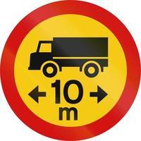 lastbilslängdgräns på Island