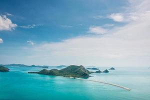 vackra havet. Gulf of Thailand, foto