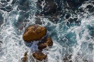vågor i land foto