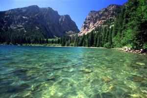 phelps lake - grand tetons foto