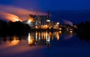 fabrik för föroreningar foto